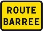 route barrée