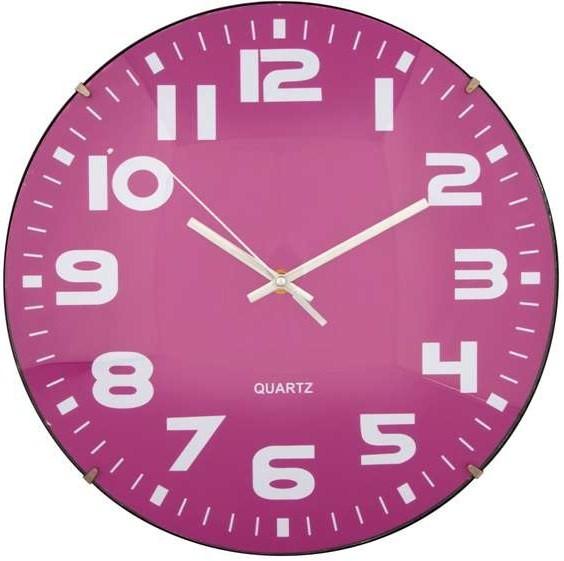 horloge mauve